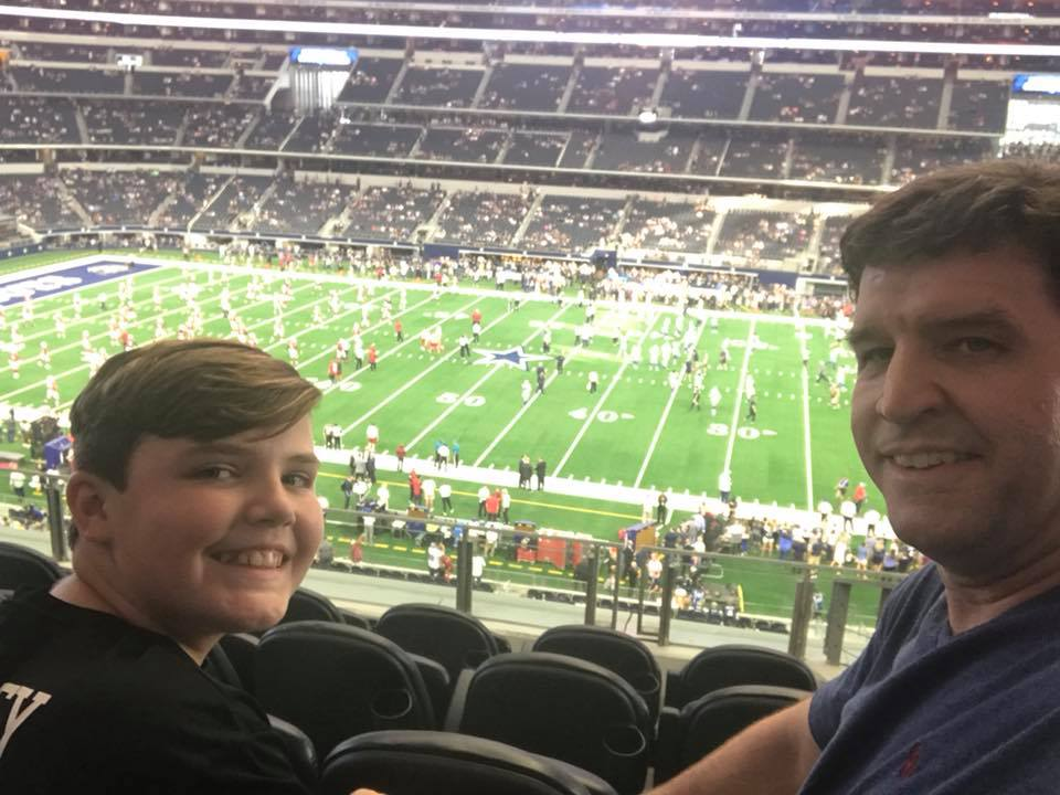 Great Seats at Cowboy Stadium