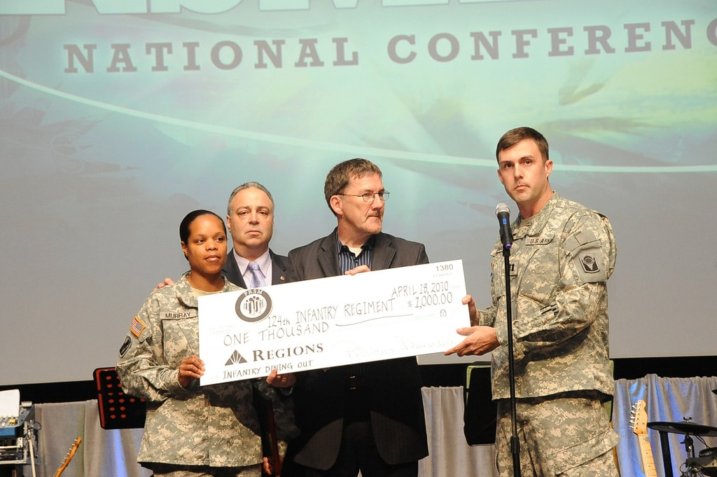 PSRMA Donation to the troops after Hero Quest Orlando