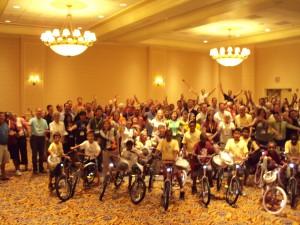 Merck Great Build-A-Bike Event in Washington DC