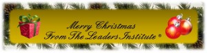Merry Christmas from The Leader's Institute