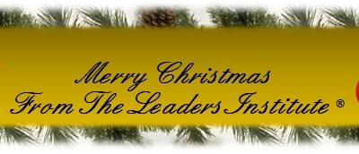 Merry Christmas from The Leaders Institute