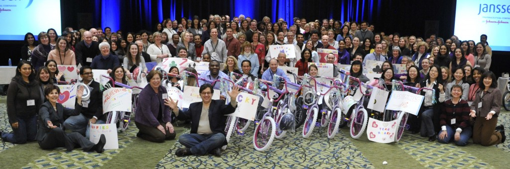 Johnson and Johnson Build-A-Bike in New York