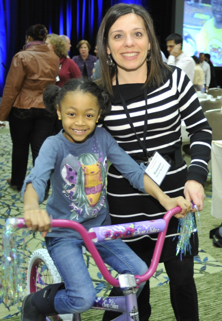 Kids Gets a New Bike from Johnson and Johnson