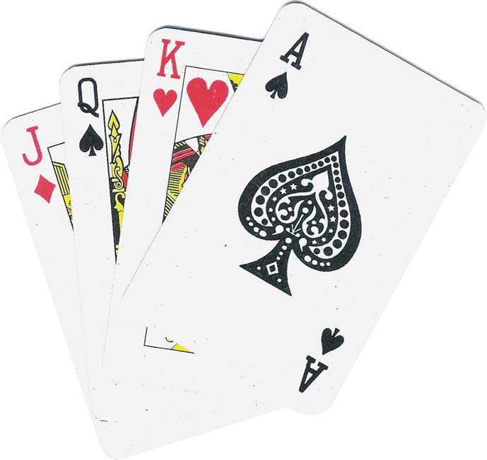 free team building activity playing card shuffle