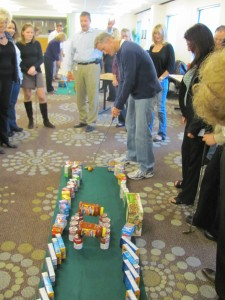 Golf Team Building Event