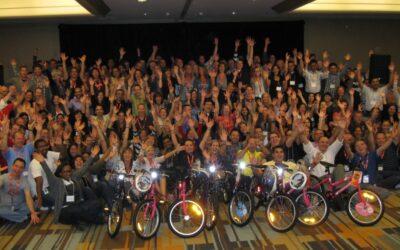 Laramar Hosts Build-A-Bike In Denver, Colorado.