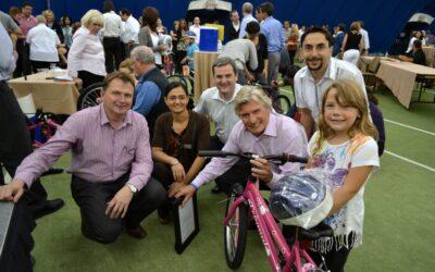 Knightsbridge in Canada Celebrates 10th Birthday with Bike Team Event