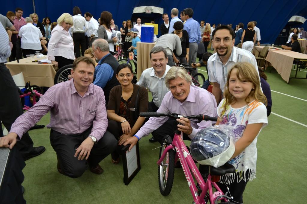 Knightsbridge Build-A-Bike Event in Canada