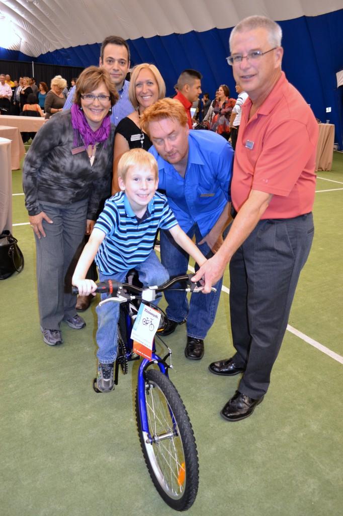 Knightsbridge donates 40 bikes to kids in Canada