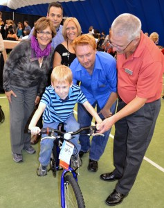 Knightsbridge in Canada Celebrated It's 10th Birthday with a Bicycle Team Building Event Benefiting Some Needy Kids