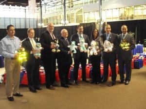 Pfizer Team Event for Kids in Hospital in New Brunswick, NJ