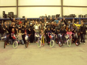 Milford Pipe Supply Shows Christmas Spirit by Donating Bikes to Children in Midland, Texas