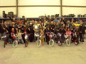 Milford Build-A-Bike in Midland Texas