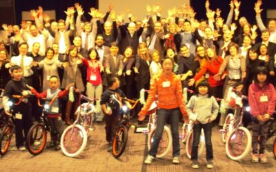 Children from Salvation Army in New York Benefit from Pfizer Build-A-Bike Team Event