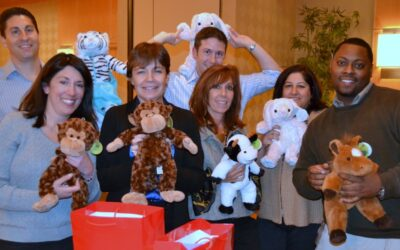 Covanta Energy Rescue Bear Team Building Helps Ailing Kids in Morristown, New Jersey