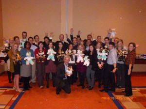 Hilton Hotels in Baltimore Maryland Create a Memorable and Philanthropic Rescue Bear Team Building Workshop