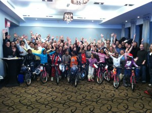 Targray Technology International includes Build-A-Bike ® team building workshop in recent conference in Montreal, Quebec