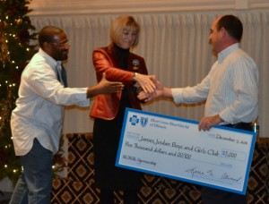BCBS Makes Cash Donation to Kids