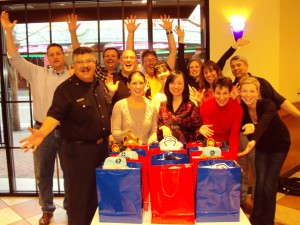 Gallo Executives Rescue Bear Team Building Event in Modesto, California
