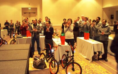 Rambus Team Event Builds Bikes for Children in San Jose