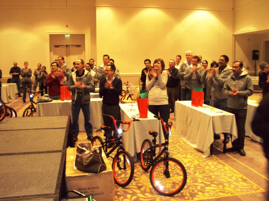Rambus Donates Bike to Kids in San Jose CA