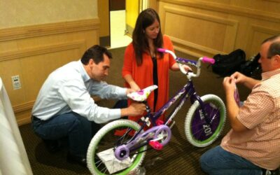Picerne Military Housing enjoyed a Build-A-Bike!