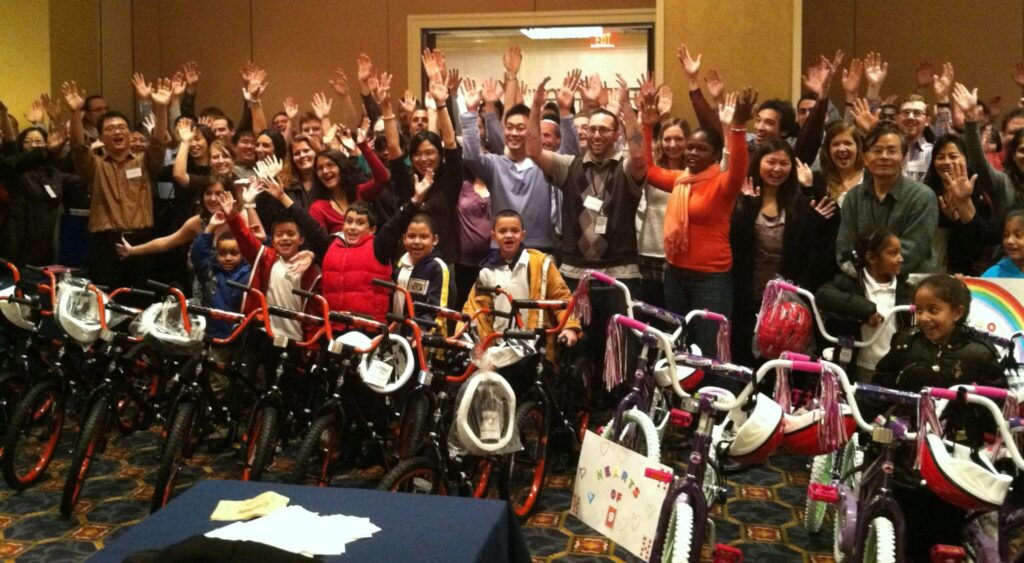 Prudential Bicycle Team Building Event in New Jersey