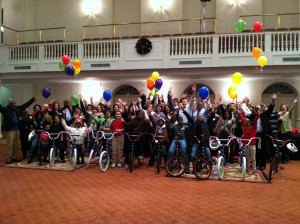 Aetna fun bike Build in Hartford, CT