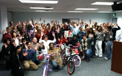 Horizon Healthcare Build-A-Bike ® Adds Fun to Holiday Party in Newark NJ