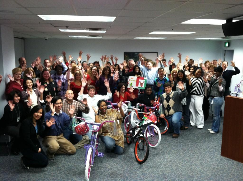 Horizon Healthcare Build-A-Bike in Newark, NJ