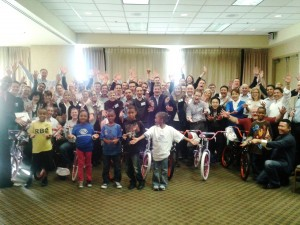 Cisco Team Building Builds Bikes for Children in Raleigh, NC