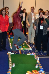 Johnson & Johnson Energizes Meeting in New Jersey with An Ace Race Golf Team Event to Feed the Hungry