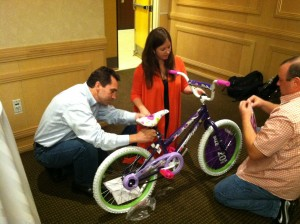 Picerne Military Housing includes Build-A-Bike Team Building Event in Annual Retreat in Providence, Rhode Island