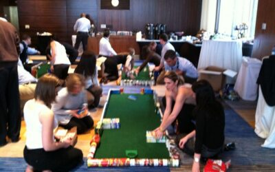 Neuronetics Ace Race Golf Team Building at Annual Sales Conference