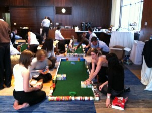 Neuronetics includes Ace Race Team Building Workshop in their Annual Sales Conference in Philadelphia, Pennsylvania