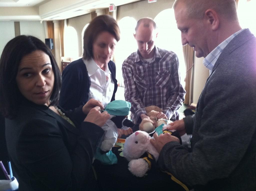 Pfizer Group Creates Stuffed Animals for Sick Kids