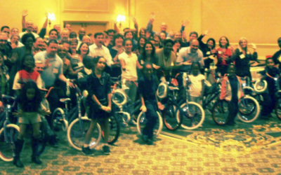 Wells Fargo Team Event Builds Bikes for Kids In Charlotte