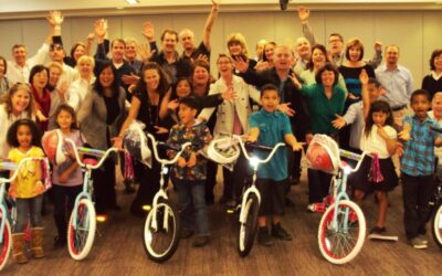 San Diego Gas and Electric Gives Bikes to Children