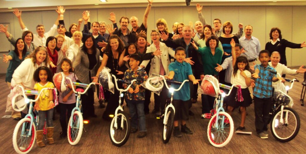 San Diego Gas and Electric Build-A-Bike Team Event