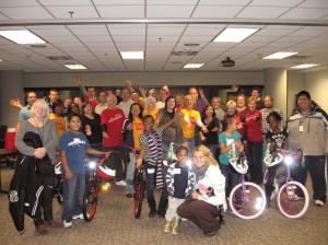 Wells Fargo hosts Build-A-Bike Team Building Event in Minneapolis, Minnesota