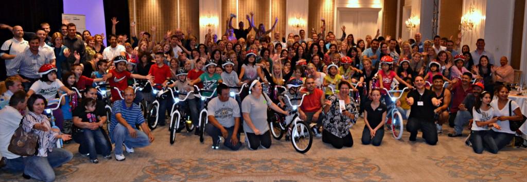 Philips Build-A-Bike team event in Dallas