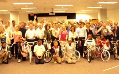 Nestle Purina Builds Bikes for Children in St. Louis, Missouri
