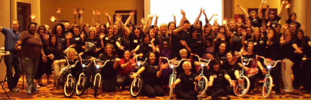 Supercuts Charity Bike Build in Omaha
