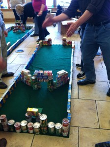 Johnsonville Sausage Ace Race Team Building Workshop in Sheboygan Falls, WI
