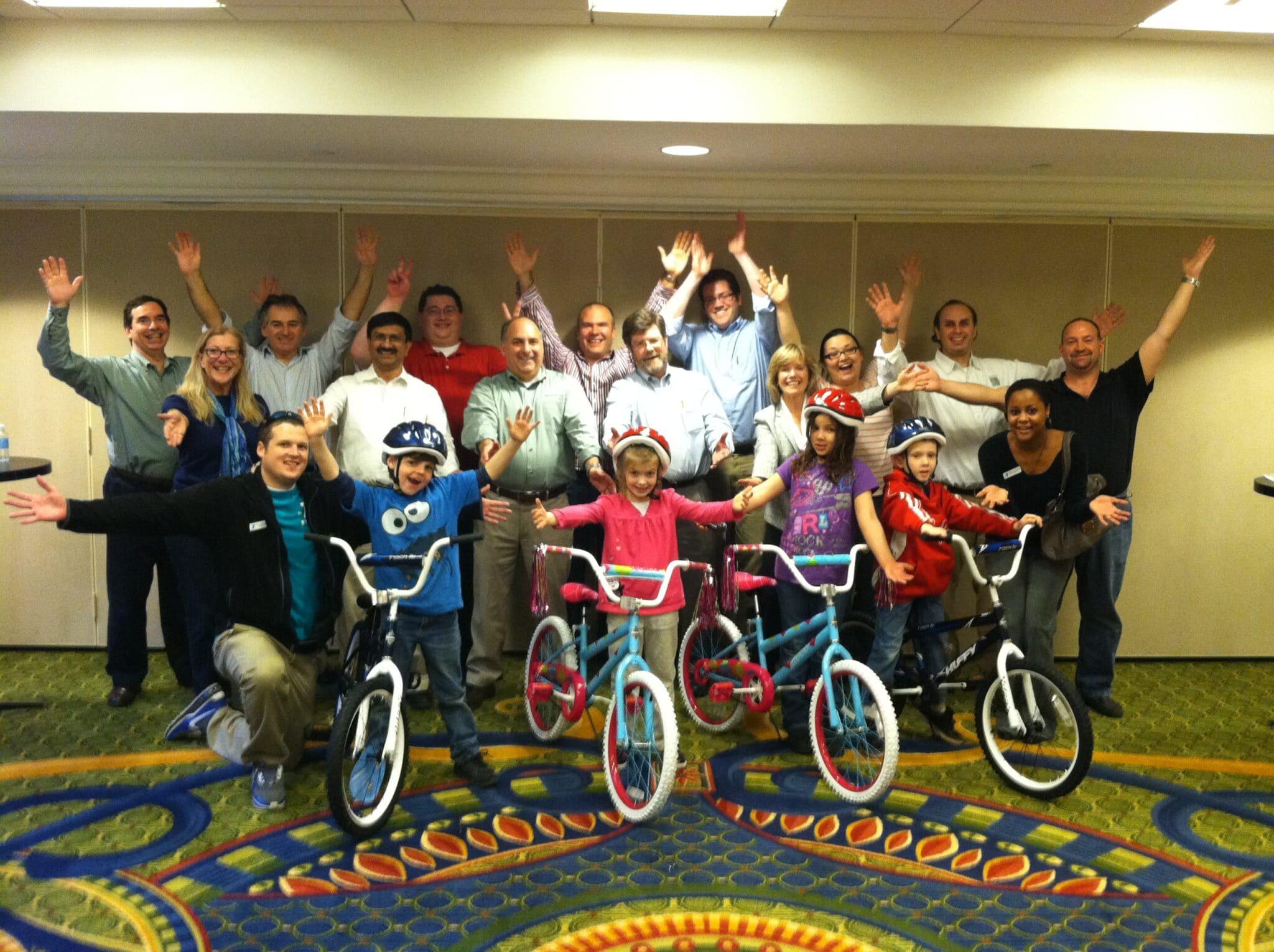 Build a bike team building cost