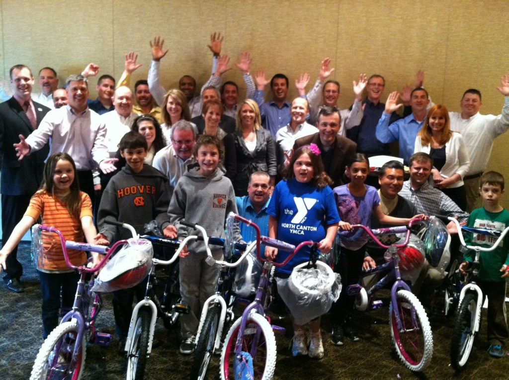 Diebold Build-A-Bike Team Event in Canton OH