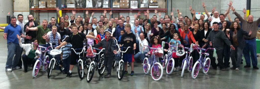 Follett Education Bike Build in Chicago IL