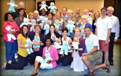 NCCPA Rescue Bear Team Building Event in Annapolis, Maryland