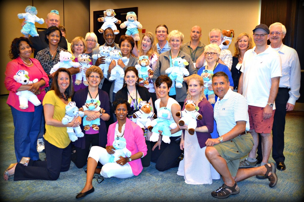 NCCPA Teddy Bear Team Building in Annapolis MD
