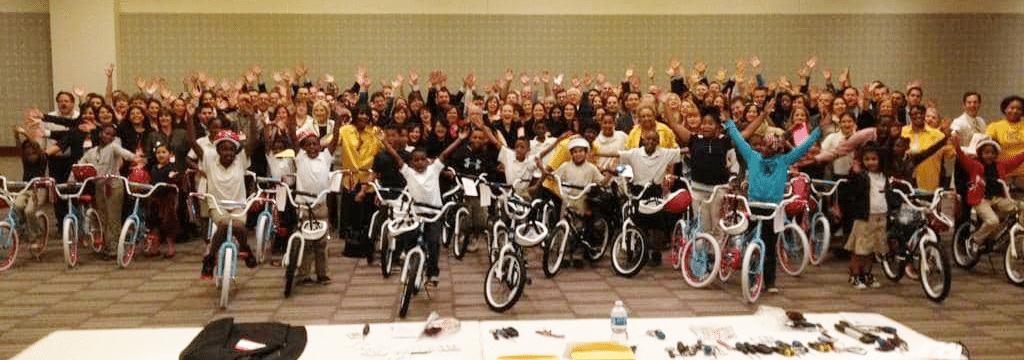 Sabre Holding Build-A-Bike in Dallas TX